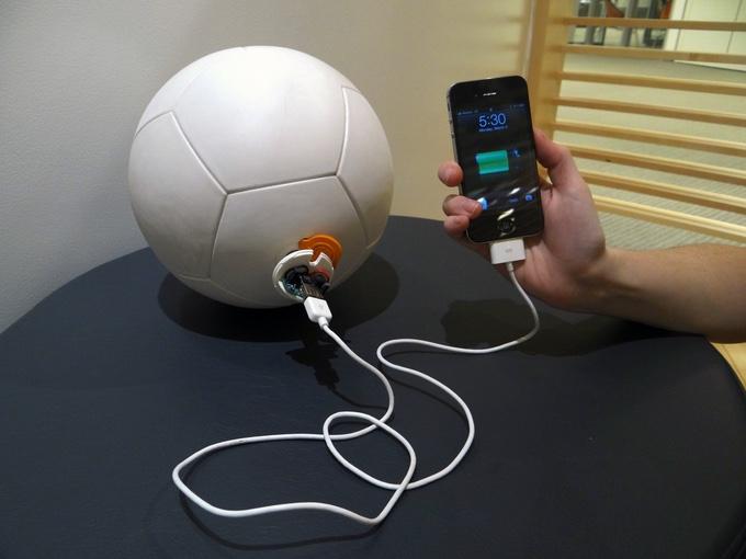 socketball cargando móvil