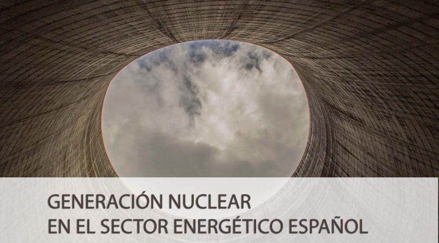 Generación nuclear en el sector energético español