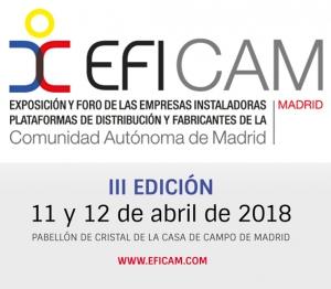EFICAM 2018 se celebrará el 11 y 12 de abril