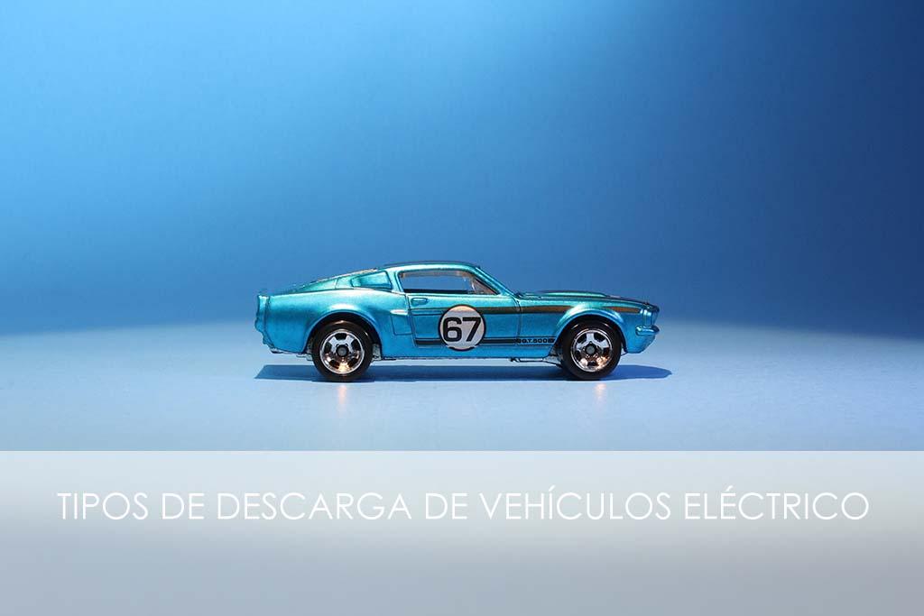tipos de descarga de vehículos eléctricos