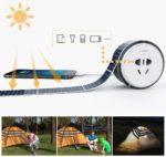 Cinta solar adhesiva reutilizable
