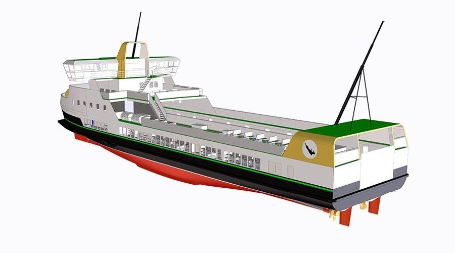 E-ferry, el ferry eléctrico de emisiones cero