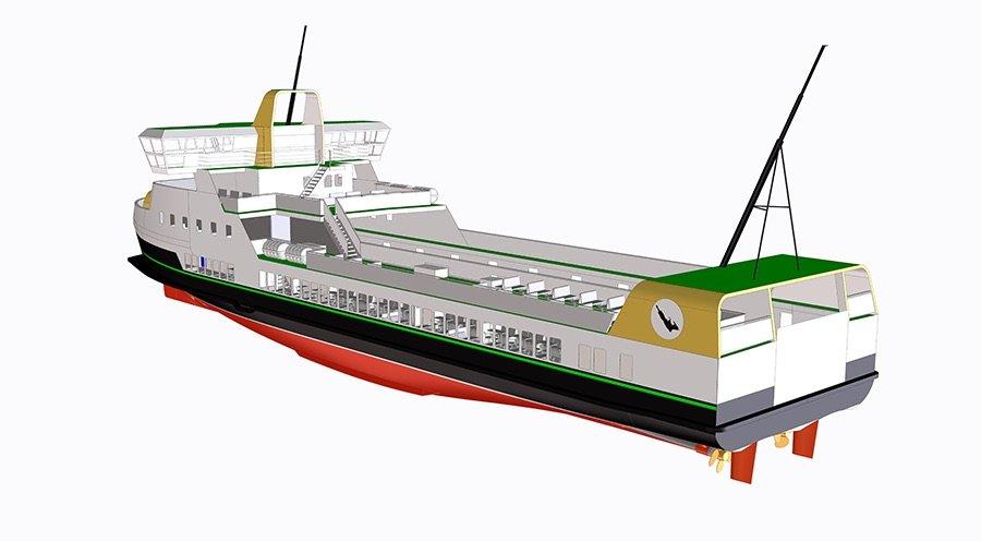 E-ferry, el ferry eléctrico de cero emisiones