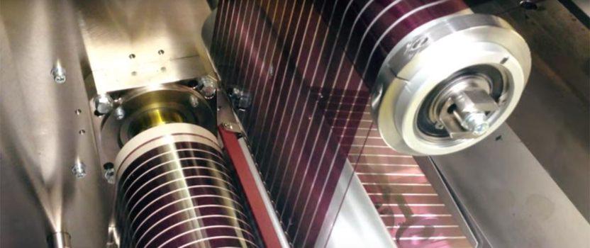 Futuro de la energía con paneles solares impresos