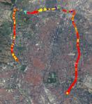 Plano carretera M 30