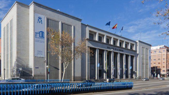 Fachada Fábrica de Moneda y Timbre