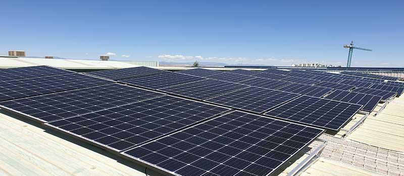 CSC Consuegra ahorrará 30.661 euros gracias a las placas solares