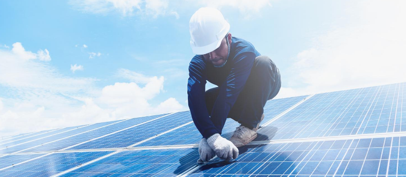 Cómo Funciona Panal Solar Paneles Solares Energía Instalación Fotovoltaica E4e Soluciones Placas Efecto Fotoeléctrico