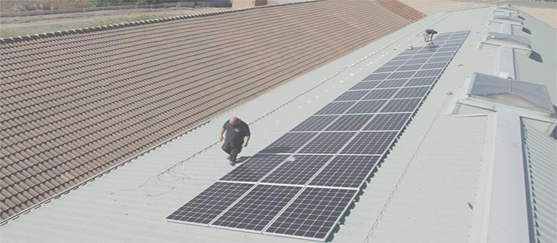 Planta autoconsumo fotovoltaico Lado