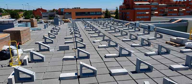 Estructuras para placas solares. Tipos y características